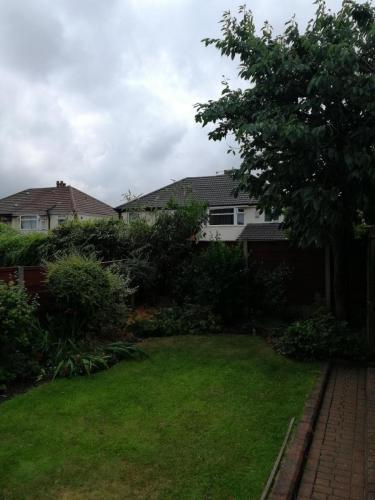 Small Cherry tree removal in Altrincham before